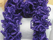 Purple scarf raises funds for epilepsy