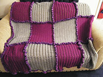 Purple blanket raised funds for epilepsy