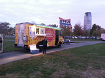 Epilepsy walk was fed by cool lunch trucks