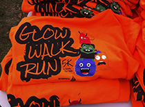 Glow Walk and Run for Epilepsy T-shirts