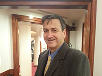Dr. Marcelo Lancman arrived at epilepsy conference