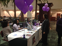 Purple Booth raises epilepsy awareness