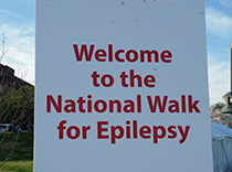 Welcome to the national epilepsy walk