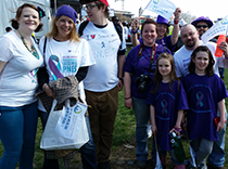 Psychogenic seizures team at DC walk 2015