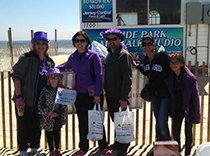 Team NEREG walked in Seaside heights, NJ