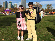 Littlest team members walk for epilepsy