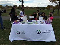 Northeast Regional Epilepsy Group booth