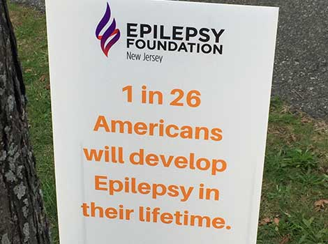 Glow walk for epilepsy in New Jersey