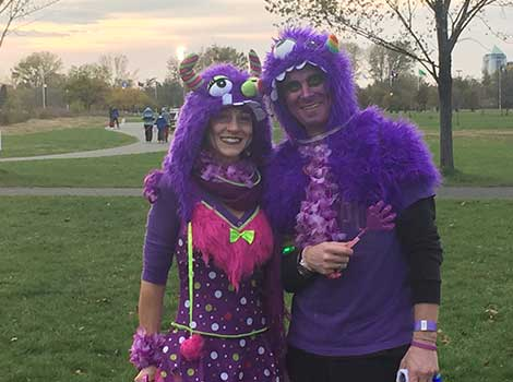 Costumes on Halloween for epilepsy