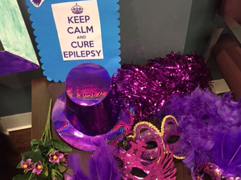 Morristown NEREG office all decked out for epilepsy day