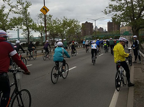 NYC ride across all 5 boroughs