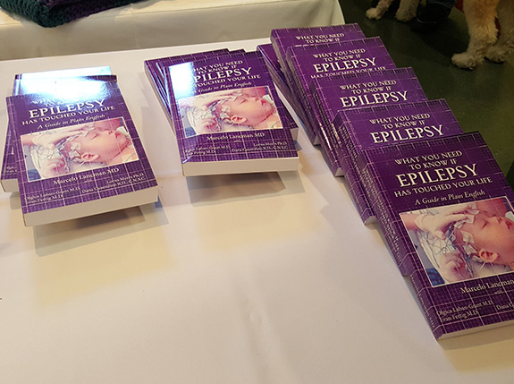 Epilepsy books in exchange for a donation