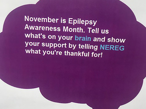 Morristown office celebrates epilepsy awareness