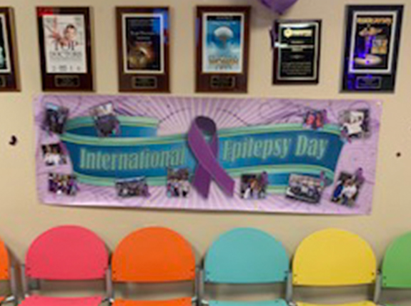 International Epilepsy Day banner