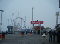 The beautiful boardwalk, Seaside Heights, NJ