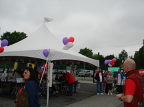 Epilepsy Foundation booths