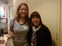 Debbie of the Anita Kaufman foundation and Dr. Lorna Myers