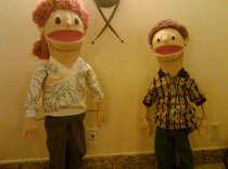 The Epilepsy Society's educational puppets for school seizure training