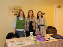 Epilepsy Information team: Melissa, Dr. Myers and Vivian