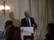 Tony Coelho, former US Congressman, person with epilepsy, speaker at the Anniversary dinner