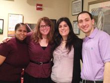 Our Manhattan office staff on Epilepsy Day!