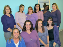Our White Plains office went Purple for Epilepsy Awareness