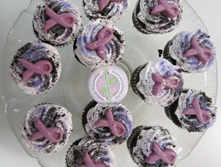 Northeastern Regional Epilepsy-White Plains and their purple cupcakes