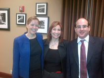 Drs. Lorna Myers, Fran Melendez and Evan Fertig