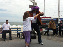 Epilepsy walk fun and dance