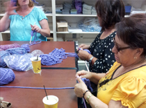 Epilepsy Awareness knitting club in New Jersey