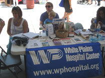 Dr. Olga Laban-Grant at the Epilepsy Program-White Plains Hospital Center Stand