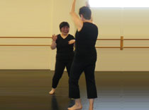 Tammy, was granted a NEREG 2010 camp scholarship. Here she is enjoying her dance class