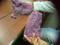Purple Knitting club is still going strong