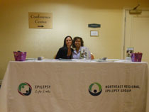 Epilepsy information booth