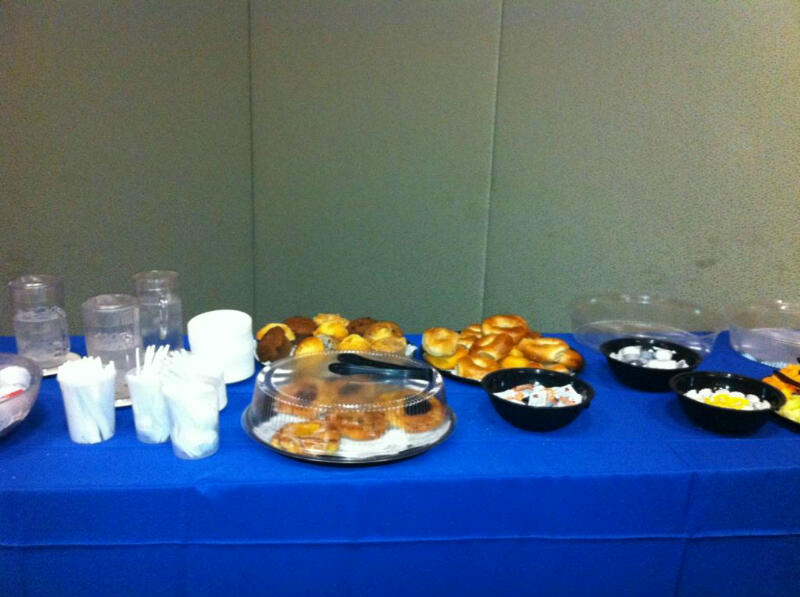 Breakfast included at our conference