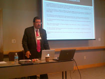 Dr. Roy Aranda organized Symposium-ethics in Spanish-speaking testing