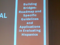 Building Bridges in testing of Spanish-speakers