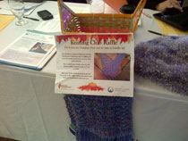 Knitting club raffle for Epilepsy