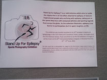 Stand up for epilepsy exhibit at San Diego