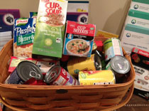 Northeast Regional Epilepsy Group New York offices pull together to raise food donations for victims