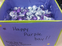 Purple treats at Jersey City