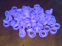 Epilepsy Day awareness rings