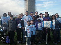 Northeast Regional Epilepsy Group team marched in Washington