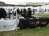 Northeast Regional Epilepsy and Lundbeck booths