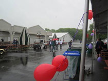 The Epilepsy Walk in Dutchess County got rained on