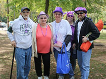 Our team at the Epilepsy Walk in New Jersey