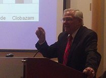 Dr. John Pellock speaks at Hackensack University Medical Center