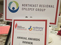 The Northeast Regional Epilepsy Group sponsored the epilepsy awards ceremony