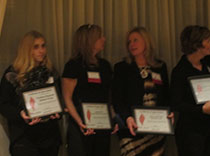 Honorees of the Epilepsy Foundation of NENY