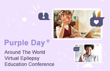 Purple Day around the world: Homeschooled Virtual Epilepsy Conference